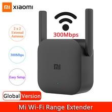 Global Version Xiaomi WiFi Repeater Wifi Signal Amplifier Pro 300Mbps Mi Wireless Router Wifi Booster 2.4G Wi-Fi Range Extender