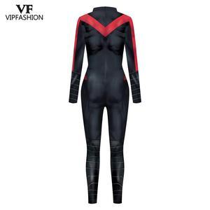 Image 5 - VIP FASHION New Cosplay Costume  Superhero Anime Zentai Suit Bodysuit Halloween Costume For Males