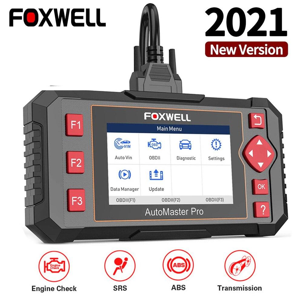 FOXWELL NT604 Elite профессиональный диагностический сканер OBD2 ABS подушка безопасности Трансмиссия диагностический сканер данных OBD2 авто инструме...