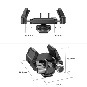 """Image 4 - SmallRig Universal Holder for External SSD Holder Clamp With Cold Shoe and 1/4"""" 20 Screws   2343"""
