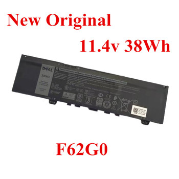 New Original Laptop replacement Li-ion Battery for DELL Inspiron7373 13-7370 Vostro 5370 F62G0 11.4v 38wh 11 1v 38wh genuine original new laptop battery ryxxh for dell latitude 12 5000 e5250 ryxxh battery bateria free shipping