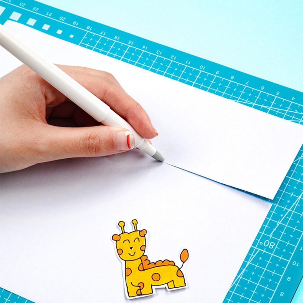 Portable Ceramic Blades Wear-resisting Notebook Newspaper Paper Pen Cutter Cutting Pen Knife Office Cutting Supplies
