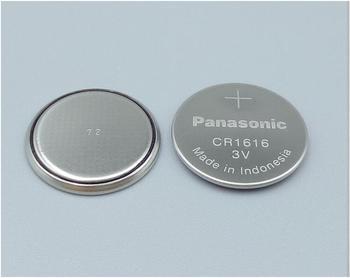 20 sztuk partia Panasonic CR1616 3V przycisk monety baterie CR 1616 samochód zdalnego sterowania Alarm elektryczny bateria litowa tanie i dobre opinie 50mah 16 0mm * 16 0mm Li-ion