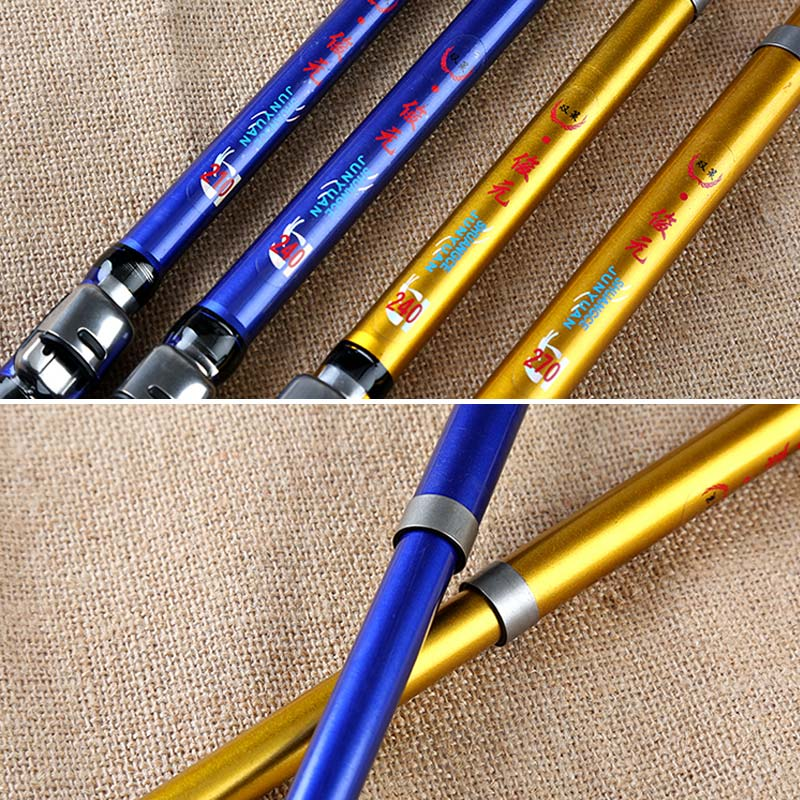 1 8M 2 1M 2 4M 2 7M 3 0M Portable Telescopic Fishing Rod Glass Fiber Fishing Pole Travel Sea Fishing Spinning Rod in Fishing Rods from Sports Entertainment