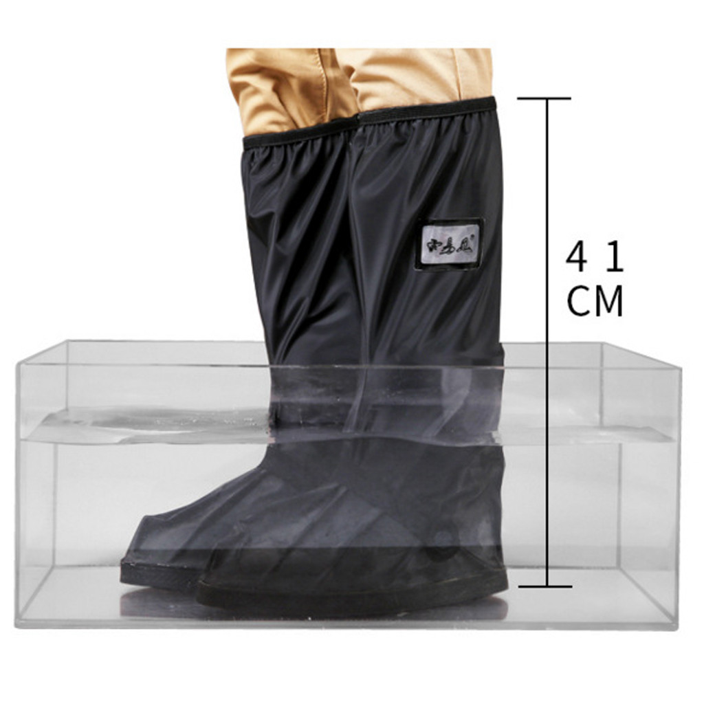 Waterproof High Top Shoe Protector to Cover Shoes in Rainy Days and Prevent Shoes from Mud and Dust Suitable for Outdoor Walking 2