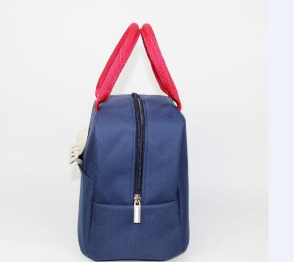 lancheira mulher homens viagem piquenique lancheira com bolso saco de almoço térmico