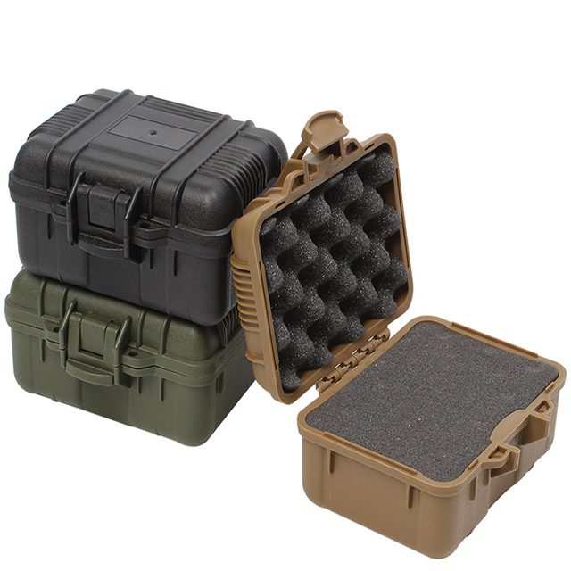 plastic toolbox Sealed waterproof Equipment box  shock-proof instrument case Safety protective tool case Outdoor portable box