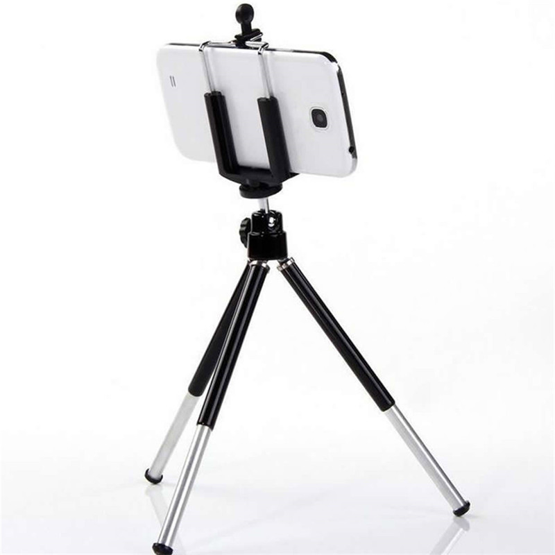 Novel Cell Phone Clip Bracket Holder For Tripod Stand W/ Standard
