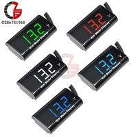 IPX6 DV 3-18V Motorrad Digital Voltmeter 12V Auto Spannung Meter Volt Lithium-Blei Säure Batterie Kapazität tester Monitor Detektor