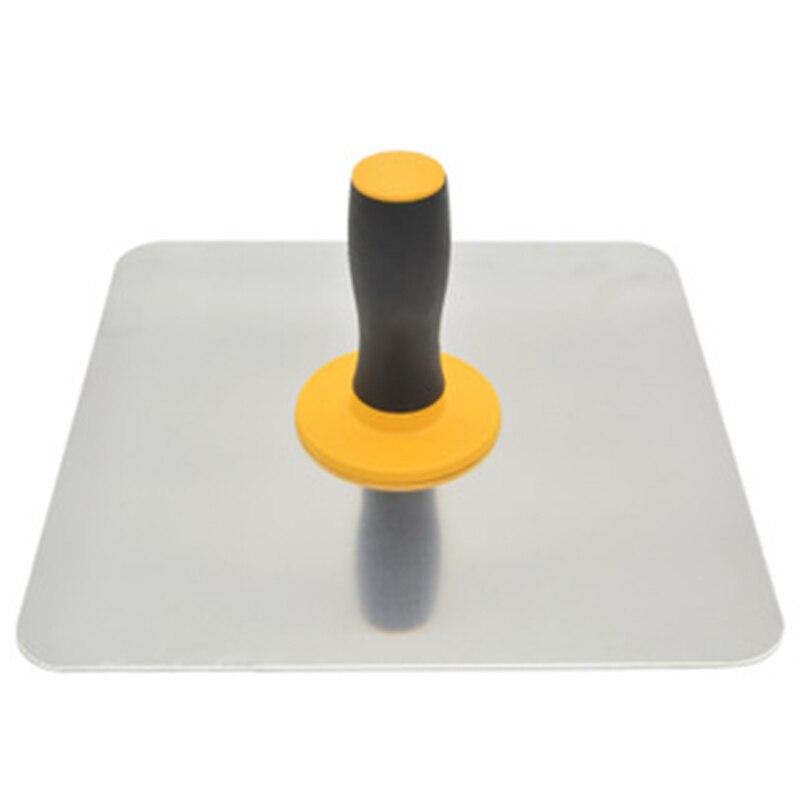 Aluminium Trowel Mortar Board Holder Construction with Handle Plastering Tool