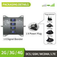 Zespół 20 800 900 1800 2100 mhz komórkowy wzmacniacz sygnału gsm telefon komórkowy wzmacniacz sygnału 2G 3G 4G LTE komórkowy wzmacniacz, antena nie jest wliczony w cenę