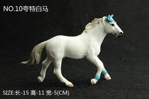 Image 5 - Kinder Simulation Zoo Modell Spielzeug Wilde Tiere Wild Horse Racing Pony Einrichtungs Fotografie Requisiten Handwerk Ornamente