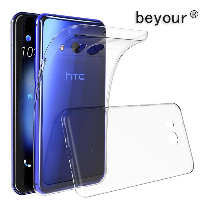 Ultra Thin Clear Soft TPU Case For HTC 10 Evo U Ultra Play U19E U11 U12 Life Eyes Desire 12 D620 D12s D10 D 825 D19 Plus A9 M10
