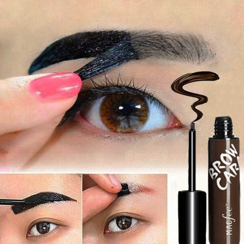 Eyebrow Enhancer Dye Cream Long-Lasting TATTOO Tint Pigment Anti-staining Peel Off Eye Gel เจลแต่งหน้า