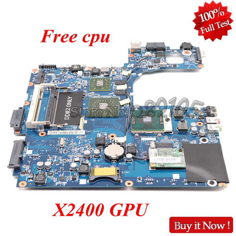 NOKOTION Laptop Motherboard For Samsung NP R60 R60 BA92 04962a Mainboard DDR2 X2400 GPU Free cpu
