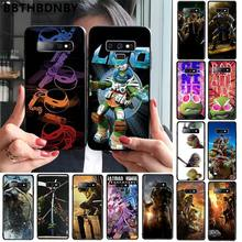 Teenage Mutant Ninja Turtles Smart Cover Black Soft Shell Phone Case for Samsung S9 plus S6 edge plus S7 edge S8 plus S10 plus(China)