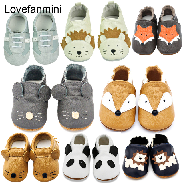 Baby Shoes Soft bebe Leather newborn booties for babies Baby Boys Girls Infant toddler Moccasins Slippers First Walkers sneakers