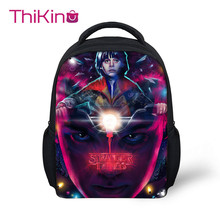 Thikin Preschool School Backpack for Kids Stranger Things Pupils bags Supplies Boys Bookbags Students Daybag