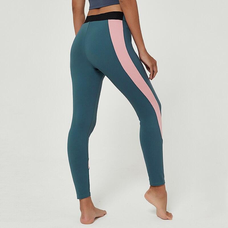 Cardism Women's Yoga Sport Pants  High Waist Gym Sports Leggings For Women Sportswear Sexy Ankel-Length Splicing Woman Pants 3
