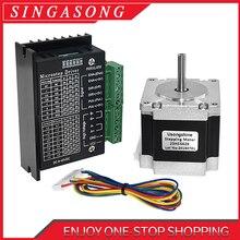 Usongshine Nema 23 23HS5628 Stepper Motor 57 motor 2.8A with TB6600 4A stepper motor driver NEMA17 23 for CNC and 3D printer
