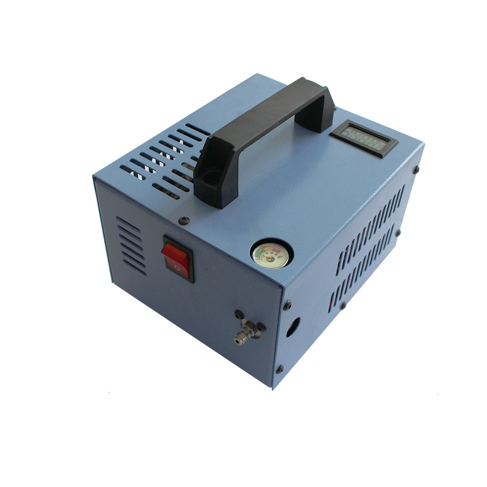 4500psi 300bar 30mpa 12V PCP Air Compressor Mini Inflator Pump With 110/220V Transformer Vehicle High Pressure Air Compressor