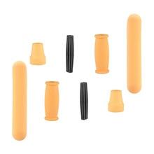 Foot-Pad Mop-Handle Walking-Stick-Accessories Axillary of Rubber Anti-Slip 8PCS Head