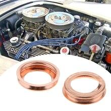 17 мм Автомобильная прокладка для слива масла, прокладка, кольца для мойки для Nissan Rogue/Sentra/Versa/Frontier/Pickup Infiniti M30/35/37 G20/25/35