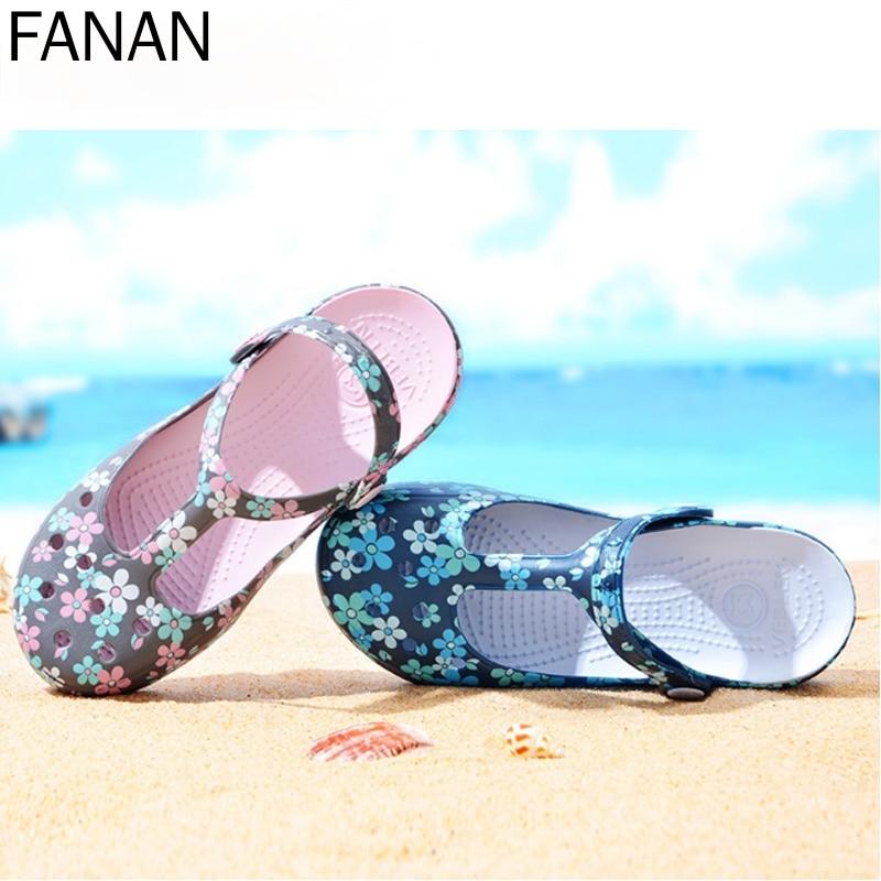 Сандалии женские на плоской подошве, шлепанцы, пляжные шлепанцы, каблук высотой, летняя обувь