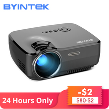 BYINTEK Marca CIELO GP70 Portatile Mini LED Cinema Video Digitale HD Home Theater Proiettore Beamer Proyector