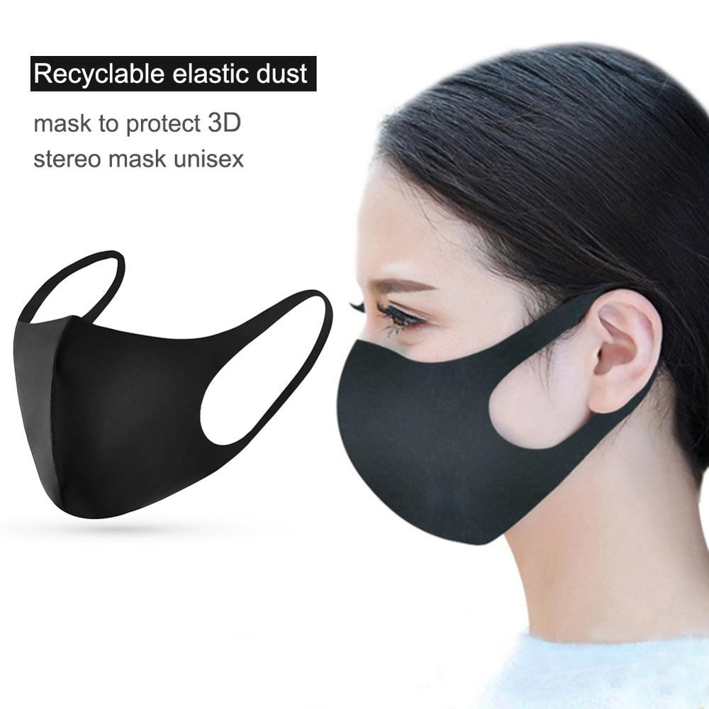 3D Face Mask For Girl Travel Cycling Home Office Dustproof Breathable Mask US
