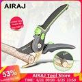AIRAJ технические ножницы, которые могут резать ветки диаметром 24 мм, фруктовые деревья, цветы, ветки и ножницы, ручные инструменты