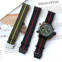 Correa elástica de nailon para reloj Samsung galaxy 3, banda deportiva de 20mm, 22mm, 46mm, 42mm, gear s3, active 2, 40 y 44mm para amazfit Bip Paca