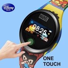 Disney Marvel Micky Mouse Spider Man The Avengers Frozen Cartoon Smart Digital Wrist watch Sport Bracelet Boy Girl Kid