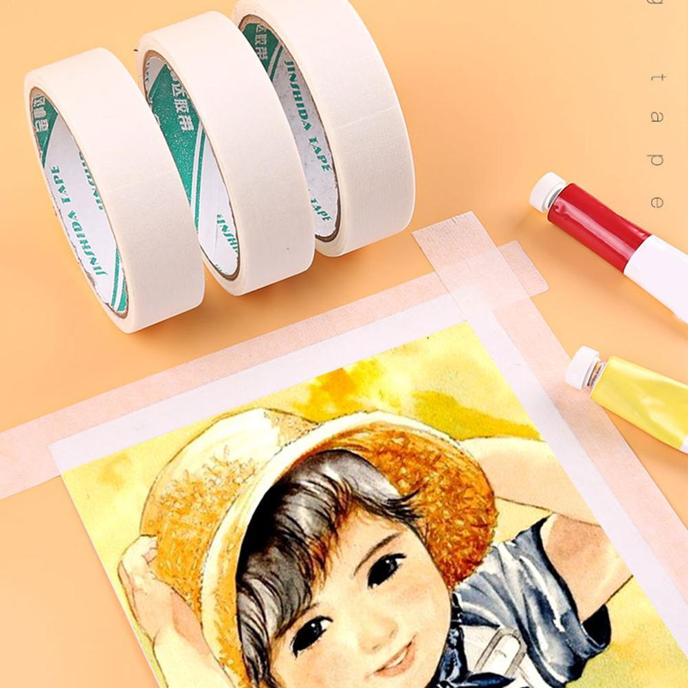 Watercolor Masking Adhesive Tape Painting Textured For Artist Art Supplies Paper Tap Cover Tool Sketch Masking Sketch Glue M6I4