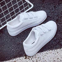 Women Sneakers Leather Shoes Spring Trend Casual Flats Sneakers Female New Fashion Comfort High Quality Trend Vulcanized Shoes