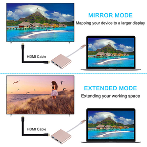 Image 4 - USB C to HDMI compatible Adapter USB 3.1 Type C to 4K HDMI compatible USB 3.0 PD Type C Converter for MacBook Laptop