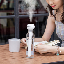 Беспроводной волшебная палочка ультразвуковой воздушный USB Перезаряжаемый без ограничений контейнер арома-Тумана Диффузор для путешествий