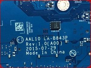 Image 4 - CN 0VFD5V VFD5V для Dell Inspiron 5458 5558 материнская плата для ноутбука AAL10 LA B843P REV: 1,0 (A00) SR23W I7 5500U материнская плата с портом HDMI