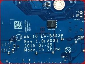 Image 4 - CN 0VFD5V VFD5V FOR Dell Inspiron 5458 5558 Laptop Motherboard AAL10 LA B843P REV:1.0(A00) SR23W I7 5500U HDMI port mainboard