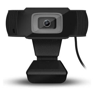 Дропшиппинг HD веб-камера 1080P потоковая веб-камера Автофокус веб-камера USB Компьютерная камера с микрофонами для ноутбука настольного компью...