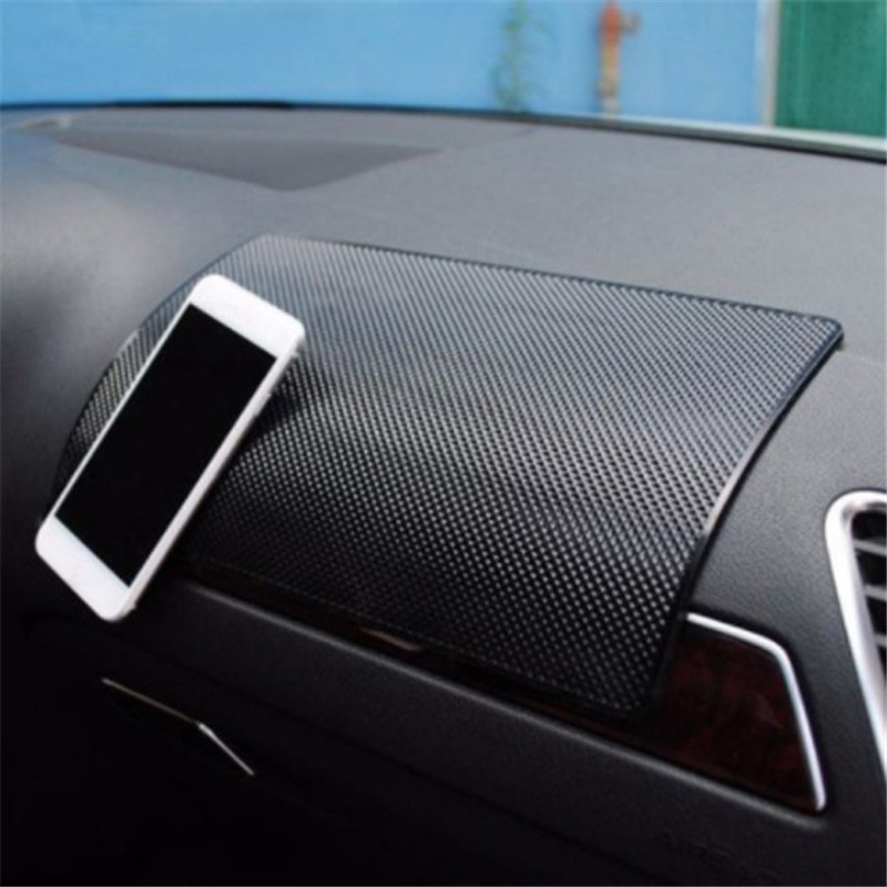 Car Non-Slip Mat Auto Silicone Interior Dashboard Phone Anti-Slip Storage Mat Pads title=