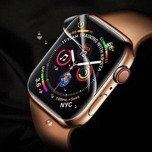 Image 5 - 3D Hydrogel Film plein bord couverture souple protecteur décran protecteur pour iwatch Apple Watch série 2/3/4/5/6/SE 38mm 42mm 40mm 44mm