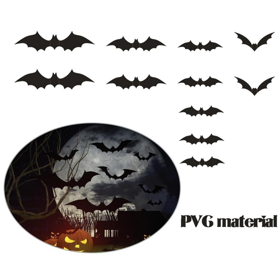 Bat Wall Decals Pvc Bats