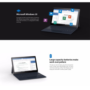 Image 4 - ALLDOCUBE KNote5pro 11.6 Inch windows10 Gemini Lake N4000 Dual Core Tablet PC 6GB RAM 128GB ROM WiFi 1920*1080