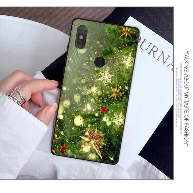 Noël Arbre De Noël Nouvel An étui de téléphone pour xiaomi redmi note 7 mi 9 mi x2 mi x2S Note3 8 8SE redmi 5 5Plus Note4 4X