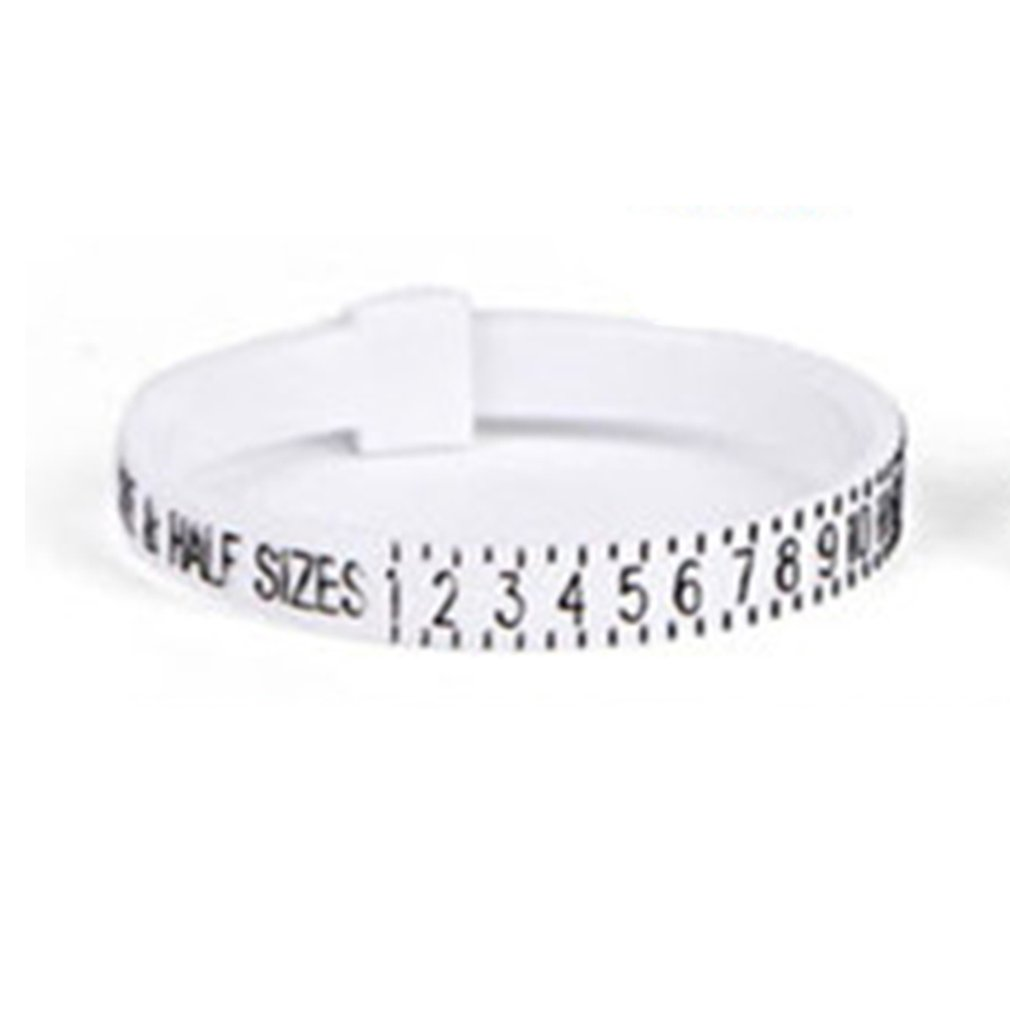 Ring Ruler Finger Ring Sizing Tool UK Size US Size Measurements Ring Sizer