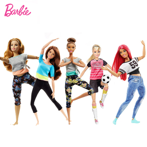 Image 2 - Original Barbie 18 Inch Fshion American Dolls with Accessories for Baby Girl Toys for Children Birthday Gift Bonecas Juguetes