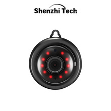 IP Camera, WiFi Camera Mini Camera with Infrared Night Vision 2 Way Audio  Motion Tracker CCTV P2P Home Security (Hook Type)