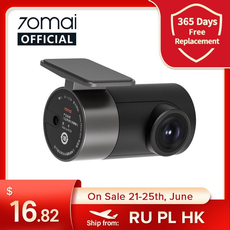 70mai Rear Cam для 70mai 4K Dash Cam 70mai A800 4K Видеорегистраторы для автомобилей зеркало заднего вида камера 70mai Pro Plus + RCO6 для A800S & A500S RC09 для A400