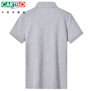 Image 2 - Dzys 2018 남성용 v 넥 폴로 셔츠 남성용 패션 셔츠 남성 3021